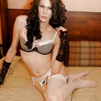 Crossdresser in lingerie pics