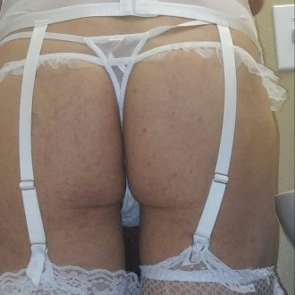 mike-in-hot-white-lingerie
