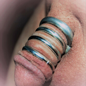 stephanie-trying-on-cock-rings